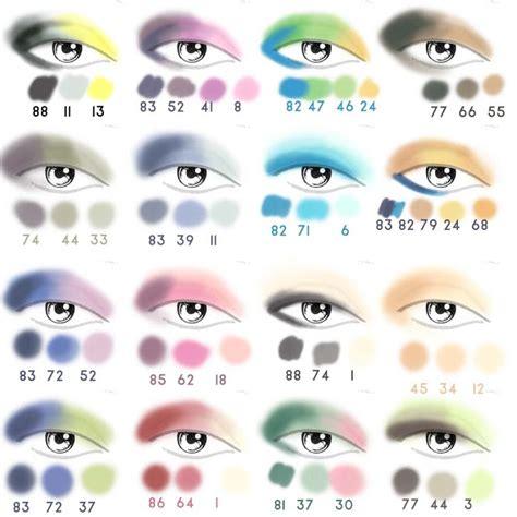 Eyeshadow Colors eye shadow combinations for a beautiful look alldaychic