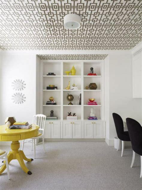 Papier Peint Plafond by Le Papier Peint Graphique D 233 Coration Unique Pour L