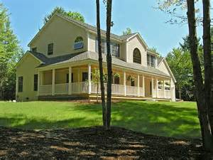 colonial style house colonial style home new