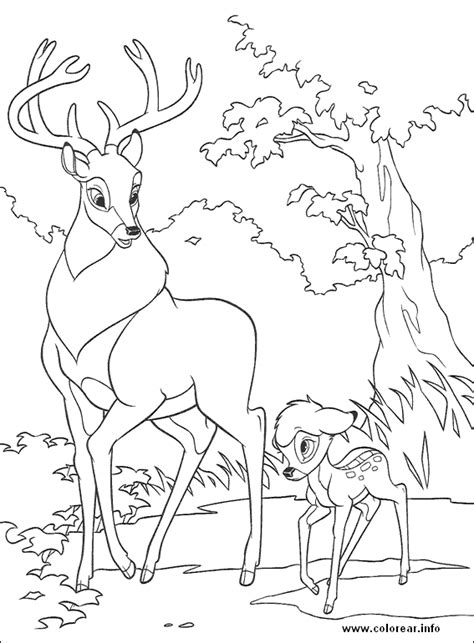bambi2 16 bambi printable coloring pages for kids