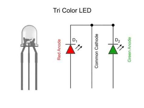 tri color led resistor bi color led vs tri color led