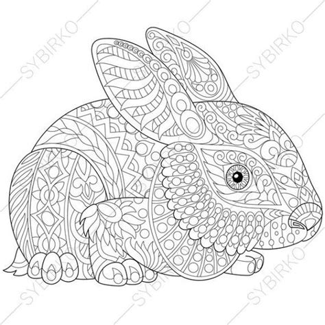 coloring pages for adults bunny 2022 best images about patterns on pinterest