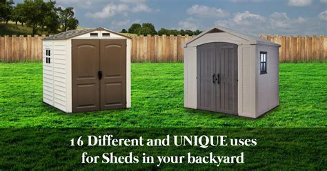 Blokes In Sheds by 18 Different Uses For Backyard Sheds In Your Home