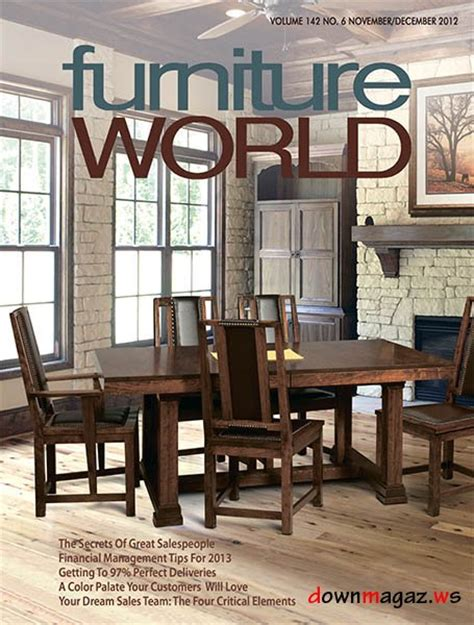 furniture magazines furniture world november december 2012 187 download pdf