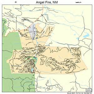 Angel Fire New Mexico Map by Angel Fire New Mexico Street Map 3503400