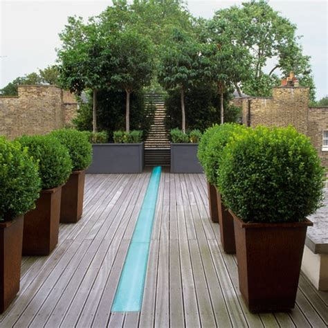 Garden Terrace Ideas Modern Garden Pictures House To Home