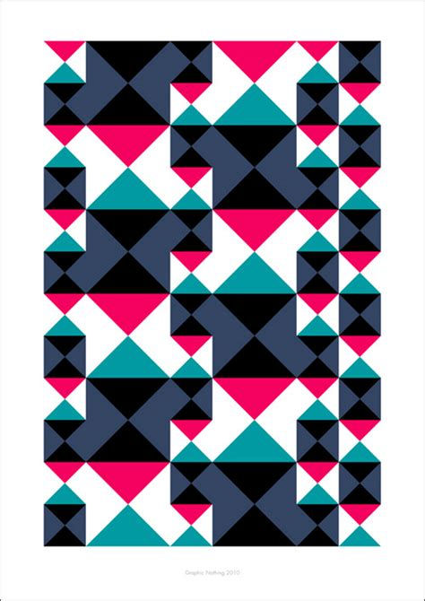 different patterns using geometric shapes gorgeous geometric designs noupe