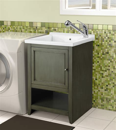 Laundry Tub Vanity Combo by Laundry Room