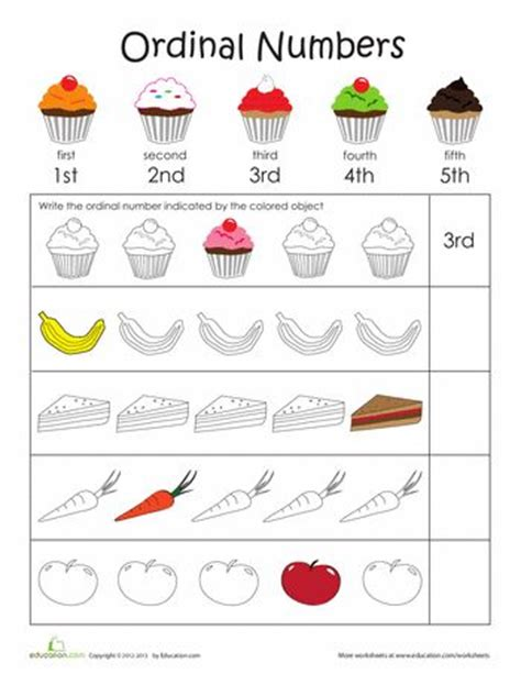 new year story ordinal numbers 43 best images about ordinal numbers on pocket