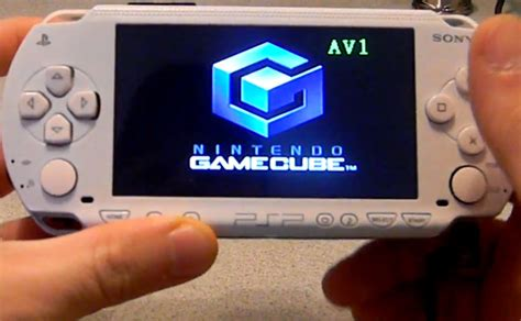 download game psp format nes sony psp and gamecube combined to create fusion micro mod
