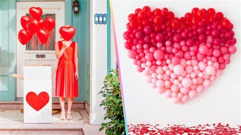 ideas para decorar un salon en san valentin ideas para decorar con globos en san valent 237 n craftingeek