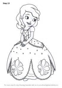 learn draw princess sofia sofia sofia step step drawing