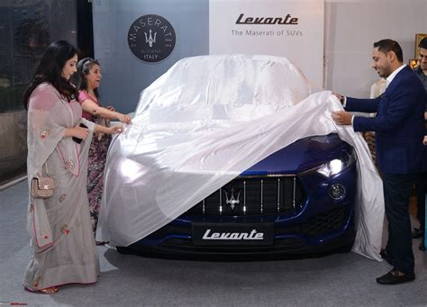 maserati delhi maserati levante suv unveiled in india launch in q4 2017