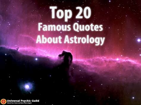 top 20 quotes about astrology