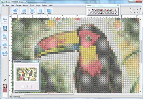 counted cross stitch pattern maker free pm stitch creator turn pictures into cross stitch