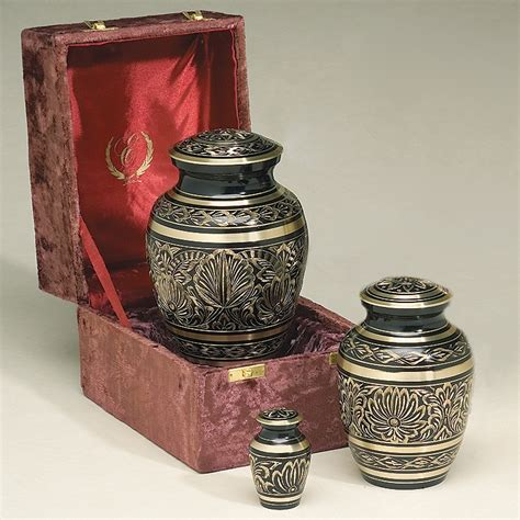 cremation urns metal cremation urns gee motif brass cremation urn