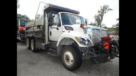 international  dump truck plow truck  sale
