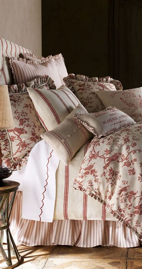 french comforters french laundry bedding inspirations red white