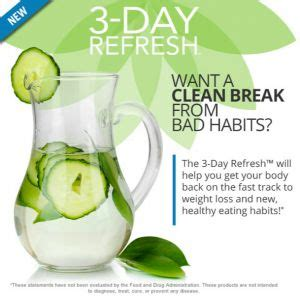 Does White Vinegar Detox Your System by 17 Best Images About 3 Day Refresh Weight Loss Program On