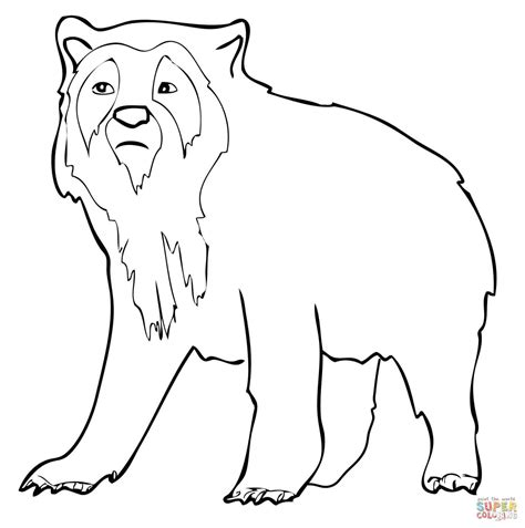 moon bear coloring pages bear coloring koala page discovery kids grig3 org