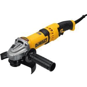 dewalt 13 corded 6 in high performance angle grinder