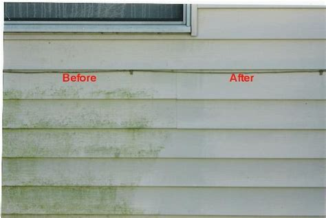 how to remove siding from house removing algae stains from vinyl siding m d power washing llc