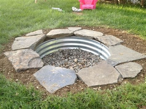 Diy In Ground Fire Pit Fire Pit Ideas In Ground Firepit