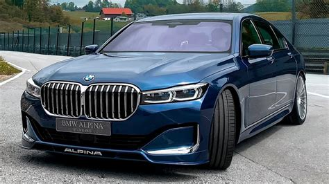 bmw alpina  wild luxury sedan  youtube