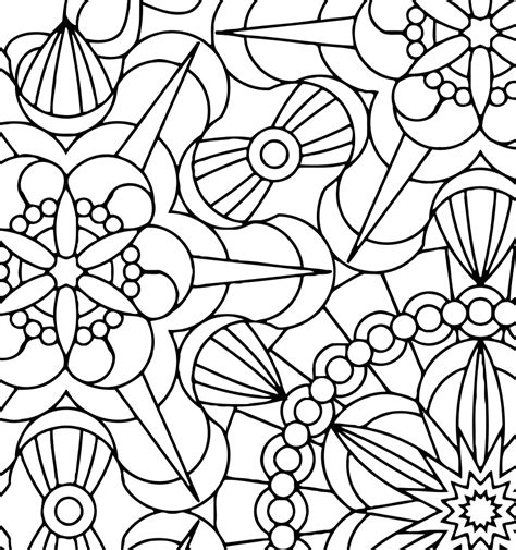 space mandala coloring pages flowers from space mandala coloring page by