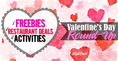 Valentines Day Prmotions Roundup by S Day Up Hip2save