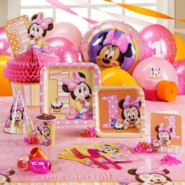 Minnie Mouse St Birthday Decorations by 1st Birthday Ideas By A Professional Planner