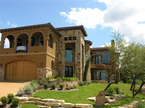 pin custom home tuscan design near lake travis designed by