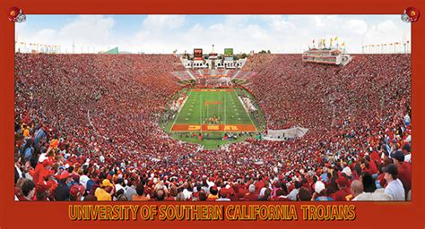 Open Bar Mba Usc by Of Southern California Trojans Football Aerial
