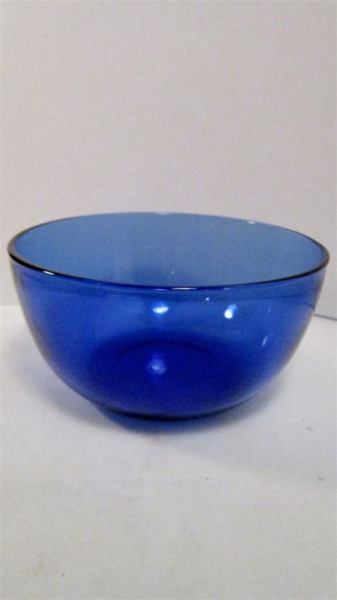 Glass Vases And Bowls by Cobalt Blue Glass Bowl Serving Dish Vase For White