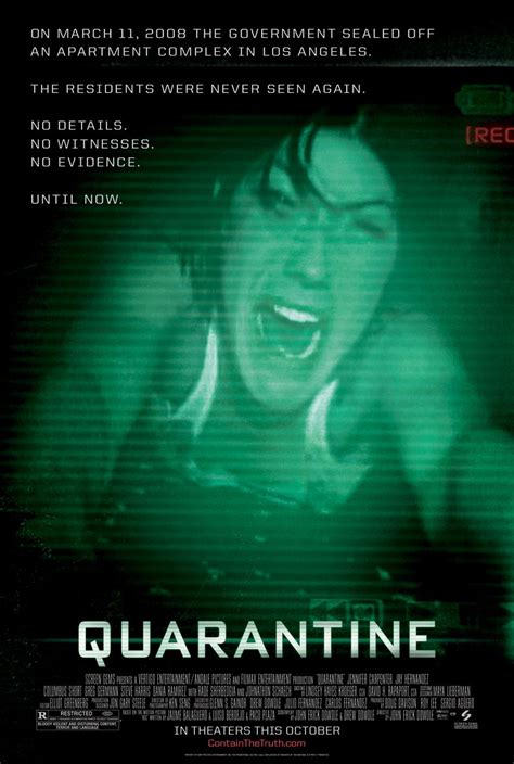 download film quarantine 2008 film posters and genre conventions