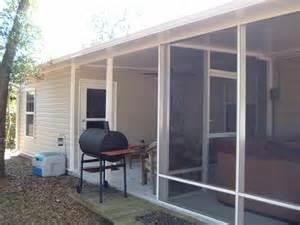screen porch kits home depot mcbride construction sunrooms
