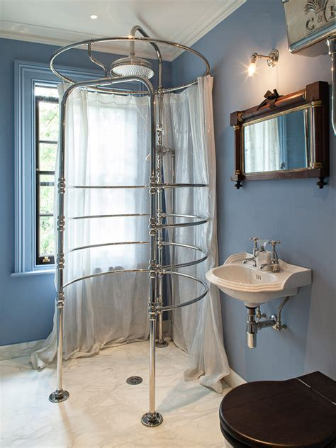 Shower Curtain Clawfoot Tub - 25 amazing walk in shower design ideas