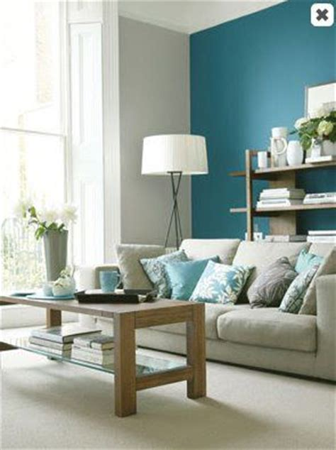 beautiful teal accent wall for your living room get the