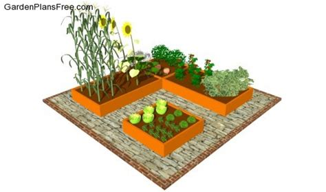 Small Vegetable Garden Layout Small Vegetable Garden Plans Free Garden Plans How To Build Garden Projects