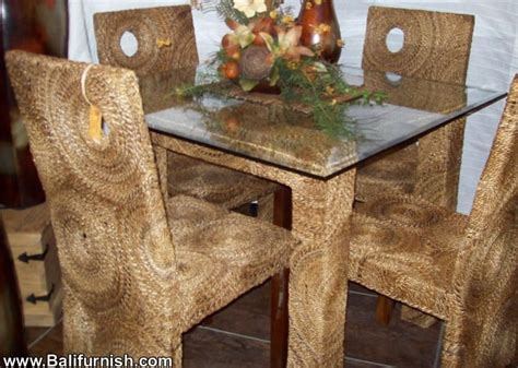 Ideas For Seagrass Dining Chairs Design Woven Dining Room Furniture Sets Indonesia