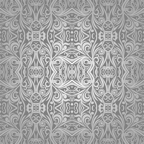 batik ornament wallpaper wallpaper batik ethnic shape stock illustration