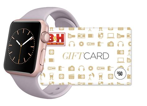 B H Gift Cards - killer deal 70 off stainless steel apple watches plus free 100 b h gift card and no