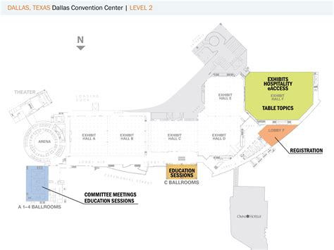 dallas convention center floor plan floorplans