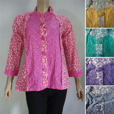 Mukena Batik Lawasan Kencana Mukti blus batik nizham embos 01 pusat grosir batik toko pakaian jual grosir murah