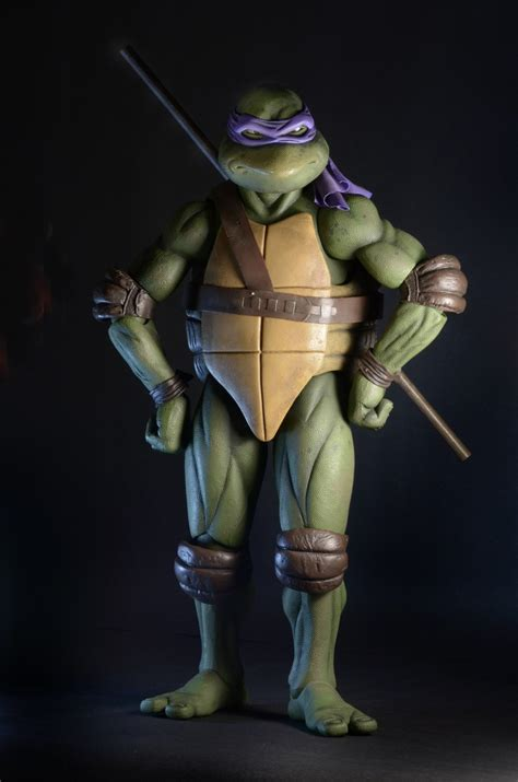 Mainan Figure Tmnt Donatello Ori Neca Artikulasi shipping this week tmnt 1990 donatello and marvel deadpool 1 4 scale figures