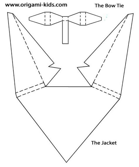 Origami Suit - suits and origami on
