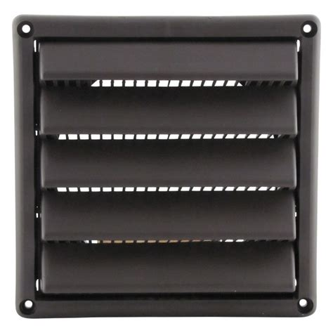 12 inch exhaust fan with louvers plastic wall vent with fixed louvers wall vents famco