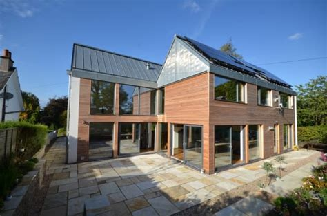 passive house design plans uk homify 360 176 a passive house in gartochan scotland