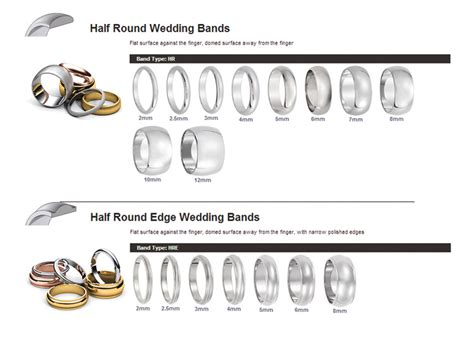 wedding band style guide by the black bow
