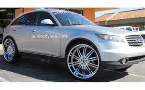 Infiniti Fx35 Rims 300c Charger Challenger Wheels Vehicle Gallery By Audio